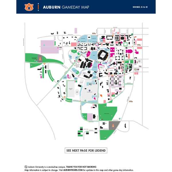 Gameday Map